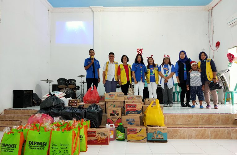 Natal Bersama Lions Club Golden Estate di Panti Asuhan